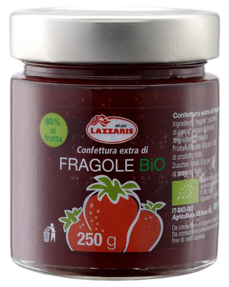 Organic Strawberry Extra Preserve