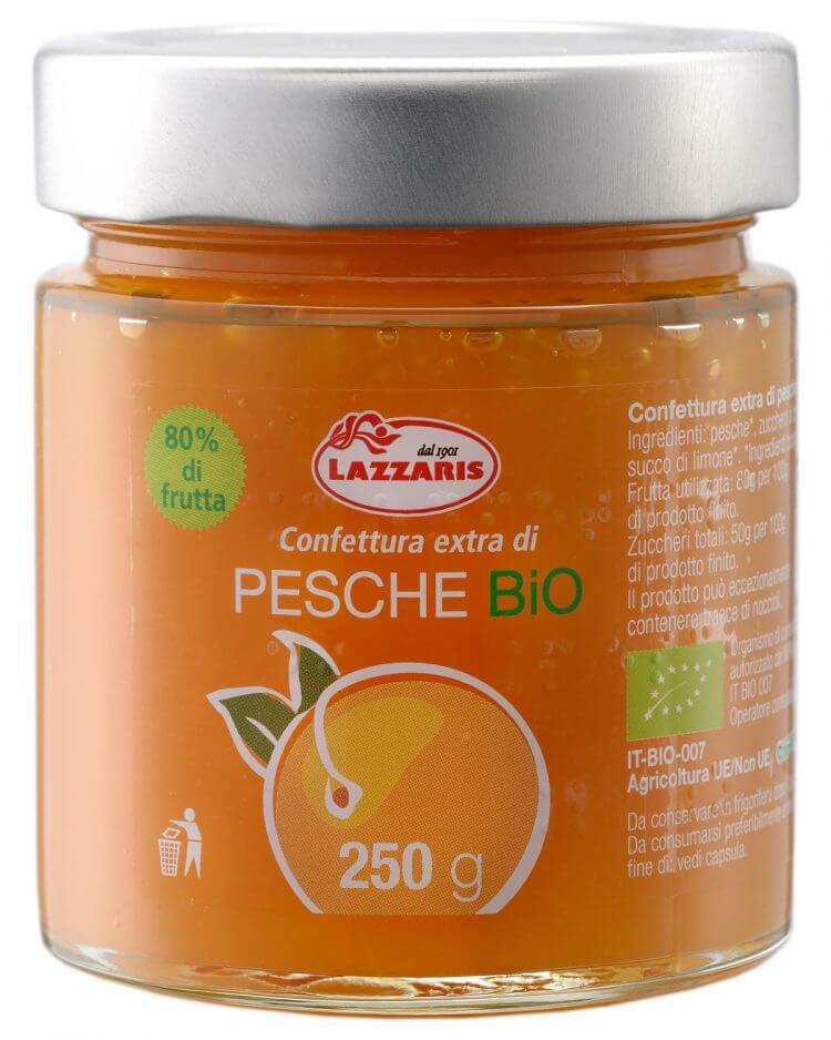 Organic Peach Extra Preserve