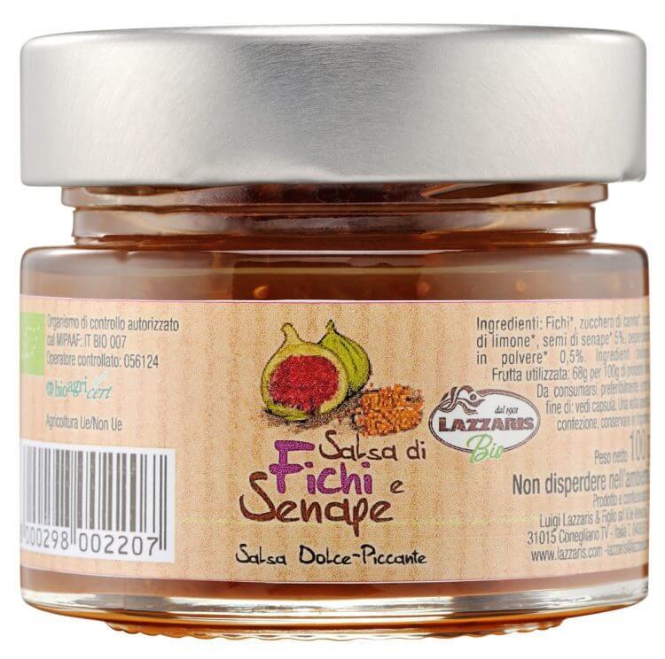 Organic Fig and Mustard Sauce