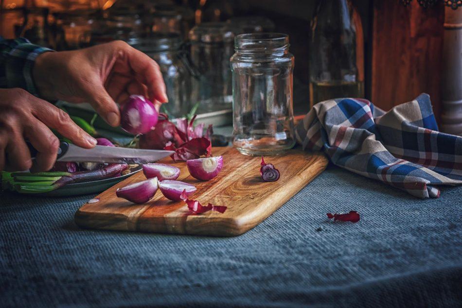 Ricetta della marmellata di cipolle rosse di Tropea
