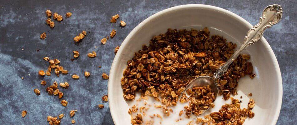 Lazzaris, Italian Breakfast, milk and cereals